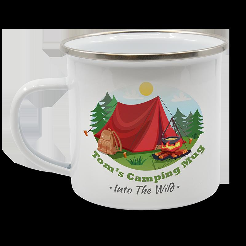 3545 - Enamel Mug