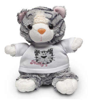 Cat Soft Toy & Shirt