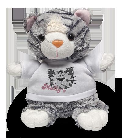 Cat Soft Toy & Shirt