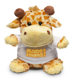Giraffe Soft Toy & Shirt