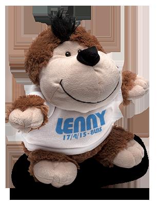 Monkey Soft Toy & Shirt