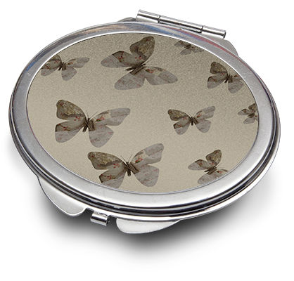 Oval Compact Mirror