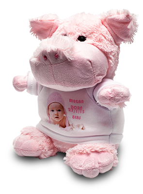 Pig Soft Toy & Shirt