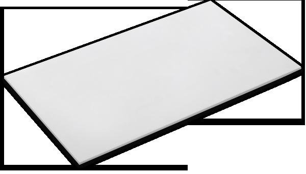 Plastic Sheet One Sided Gloss