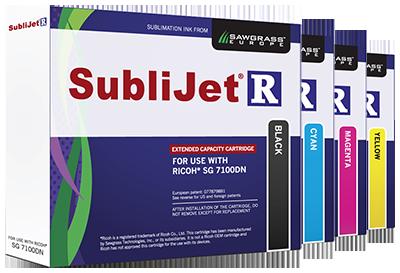 SubliJet-R Ink Ricoh SG 7100DN