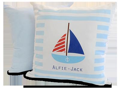 Soft Cushion Cover - Blue