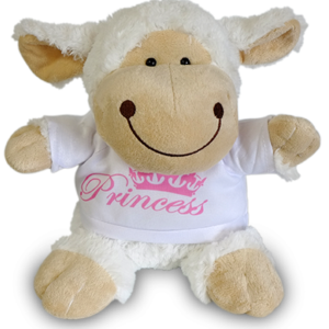 Sheep Soft Toy with Shirt