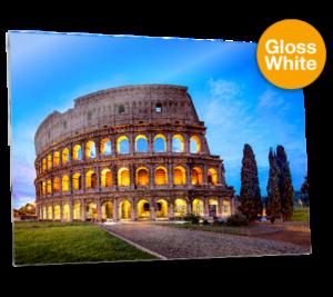 """ChromaLuxe Aluminium White - ( 6 x 8"""" )"""
