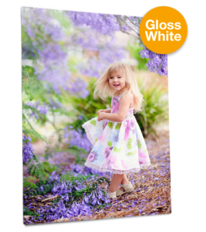 ChromaLuxe Aluminium Photo Panel - White