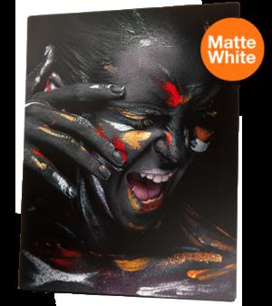 ChromaLuxe Aluminium - Matte White 8 x 12