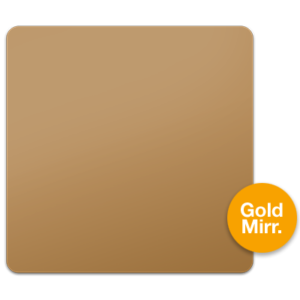 Gold Mirrored