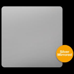 Silver Mirrored