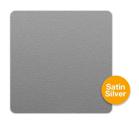 Silver Satin Aluminium Sheet