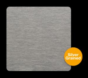 Silver Grained Sublimation Aluminium Sheet