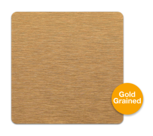 Gold Grained