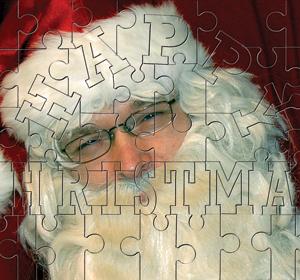 Happy Christmas Jigsaw