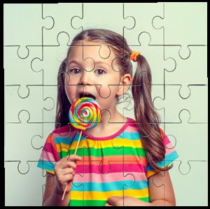 Jigsaw - Square 25 piece