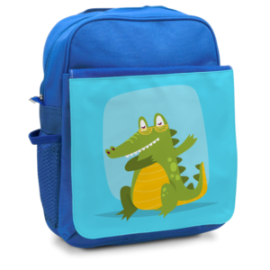 Child's Rucksack Blue - Front