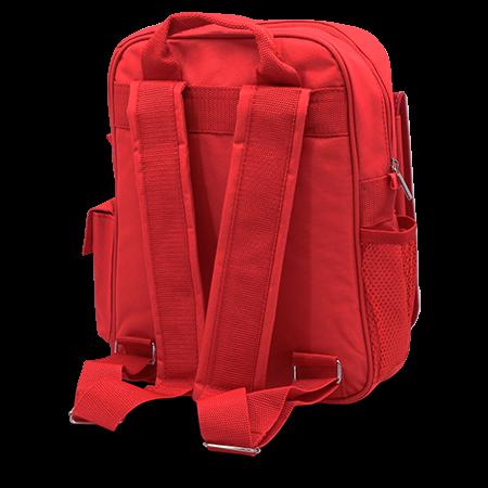 Child's Rucksack Red - Back