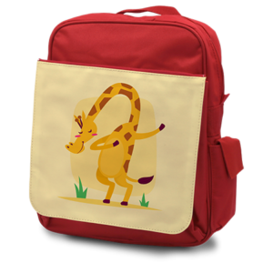 Child's Rucksack Red - Front
