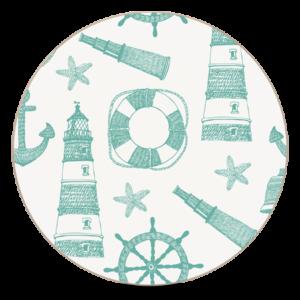 10cm Round Coaster