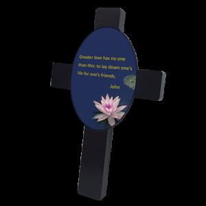 Mahogany Cross
