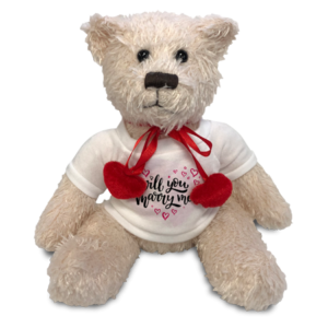 Teddy with Shirt - Cream