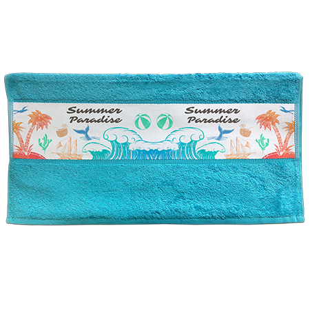 Sublimation Hand Towel - Blue