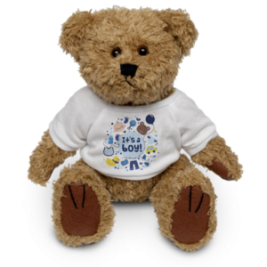 Teddy with Shirt - Brown