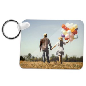 ChromaLuxe Rectangle Keyring