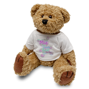 Large Brown Teddy & T-Shirt