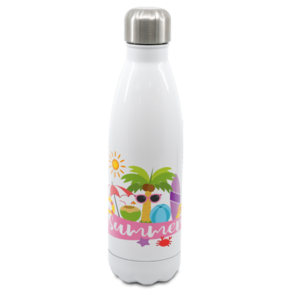 White Cola Shape Bottle