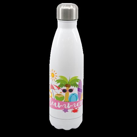 White Cola Shape Bottle