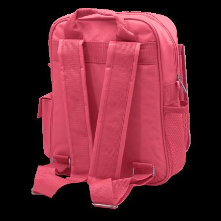 Child's Rucksack Pink - Back