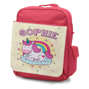 Child's Rucksack Pink - Front