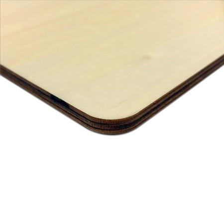 Natural Wood Plaque Edge
