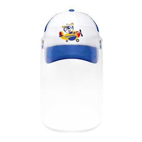 Blue Cap with Visor