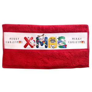Sublimation Hand Towel - Red